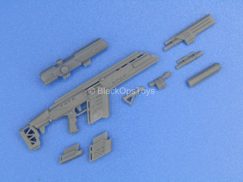 "1/12 - Custom - ""Alpha"" Sniper Rifle w/Interchangeable Attachment Set"