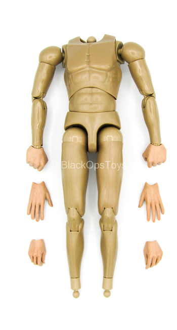 Sheldon Cooper - Male Base Body w/Hand Set