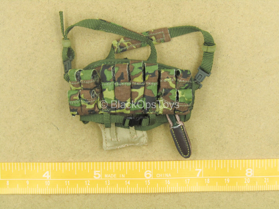 1/12 - Russian FSB Alpha - Woodland Chest Rig