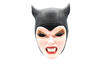 Catwoman Exclusive - Female Snarling Head Sculpt w/Mask