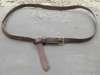 The Devil Hunter - Brown Leather-Like Long Belt