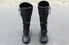 Catwoman Exclusive - Black Knee High Action Pose Boots (Peg Type)