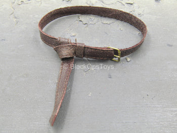 The Devil Hunter - Brown Leather-Like Belt