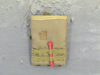 German KSK Kommando Assaulter Spezialkräfte Tan Dump Pouch & Red Light Stick