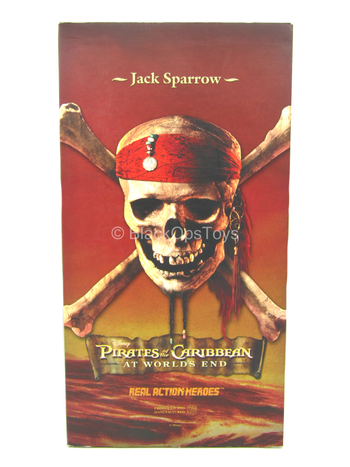 POTC At World's End - Captain Jack Sparrow - MINT IN BOX