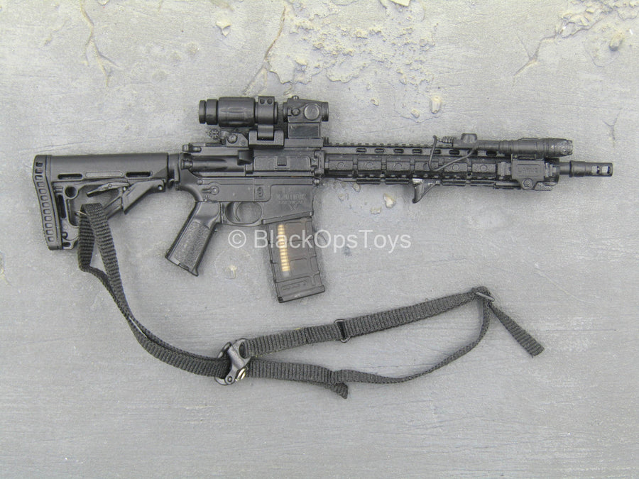 Trainer - Chris Costa - Black AR-15 Rifle w/Accessory Set
