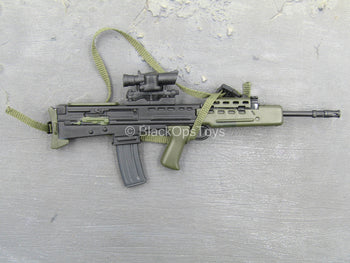 British SA80 Assault Rifle w/ACOG Scope