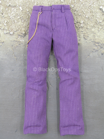 Dark Knight - Joker - Purple Pants w/Gold Like Chain