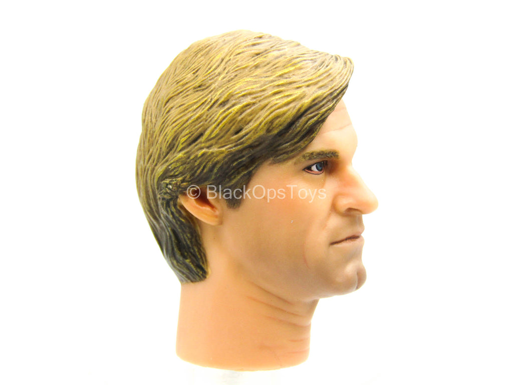 Male Head Sculpt In Likeness Of Aaron Eckhart