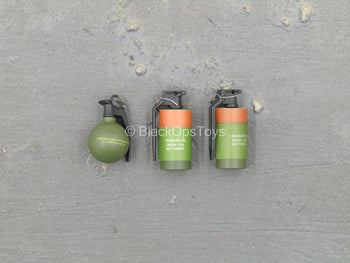 SMU Operator Part X - Flash Bang Set w/Frag Grenade