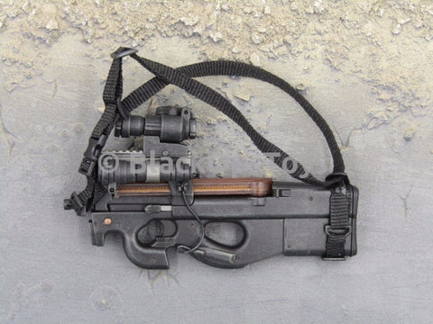 One Sixth Scale Model Black P90 SMG  043