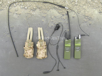 SMU Operator Part X - Radio Set w/AOR1 Radio Pouches