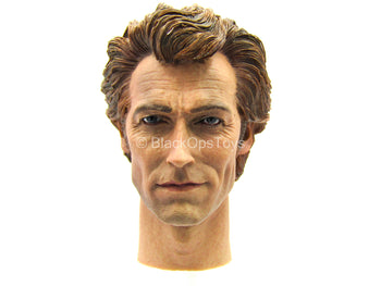 Male Head Sculpt In Young Clint Eastwood Likeness