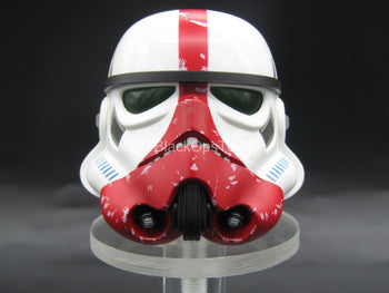 Star Wars - Incinerator Trooper - White & Red Helmet