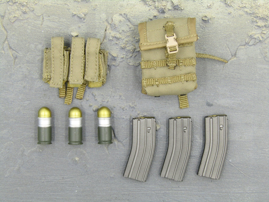 Combat Diver Desert Version - Munition & Pouch Set