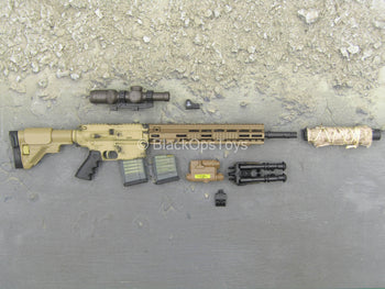 SMU Operator Part X - 417 7.62 Designated Marksman Rifle w/Attachment Set
