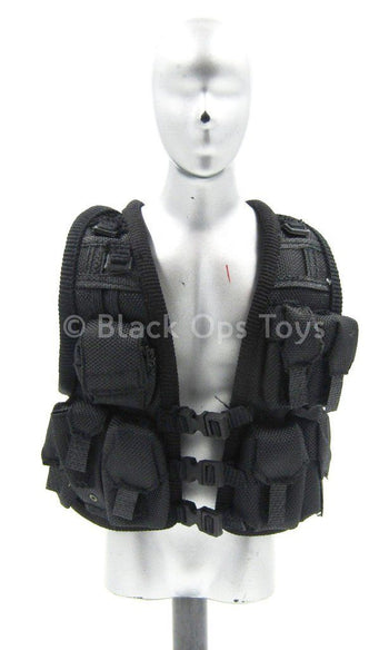 British SAS - Counter Terrorist - Black Tactical Vest