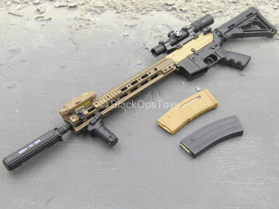SMU Operator Part X - DEVGRU 5.56 RECCE Rifle w/Attachment Set