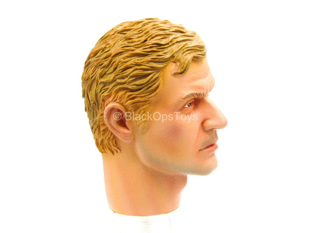 Caucasian Male Head Sculpt