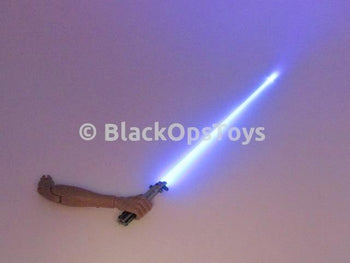 Hot Toys Sideshow Exclusive Star Wars Luke Skywalker Blue Light-Up Lightsaber & Right Arm