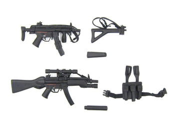 British SAS - Counter Terrorist - HK MP5 & MP5K SMG Builder Set