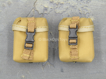 1st Cavalry Division SAW Gunner - Coyote Tan 100 RND SAW Pouch x2