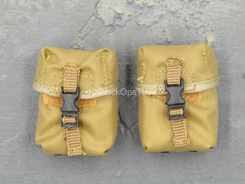 1st Cavalry Division SAW Gunner - Coyote Tan 200 RND SAW Pouch x2