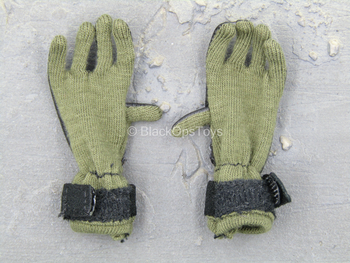 1st Cavalry Division SAW Gunner - Green & Black Gloves
