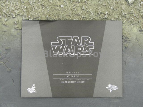 Hot Toys Star Wars Episode VII Kylo Ren Instructions Guide