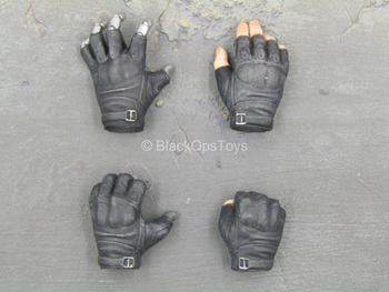 The Mechanical - Male Black Gloved Hand Set (Type 2)