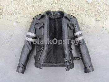 1/6 Scale Leon Kennedy Resident Evil Black Leather Jacket