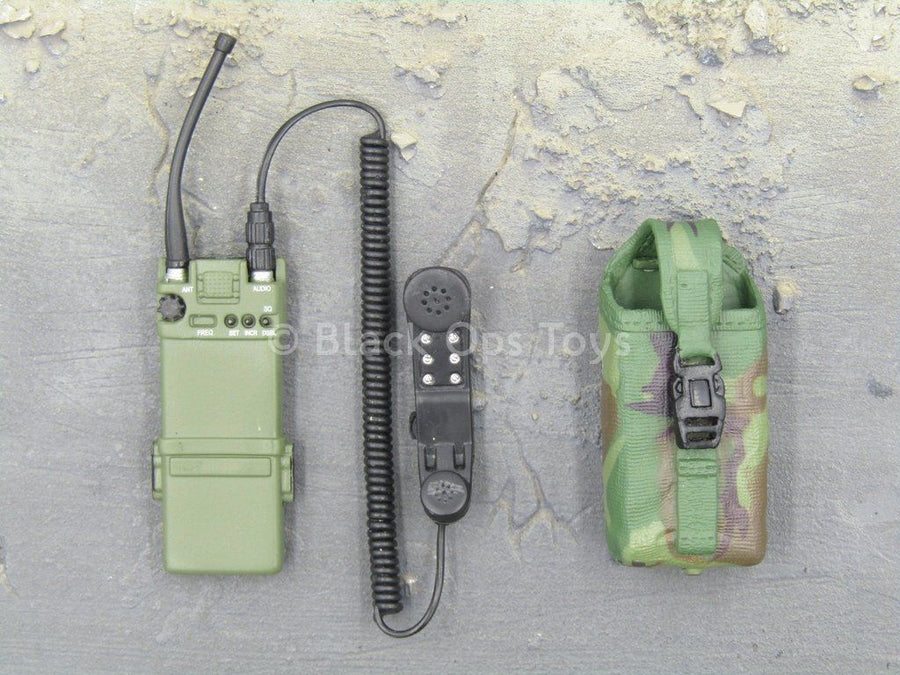 USMC - Expeditionary Unit - OD Green Radio w/Pouch