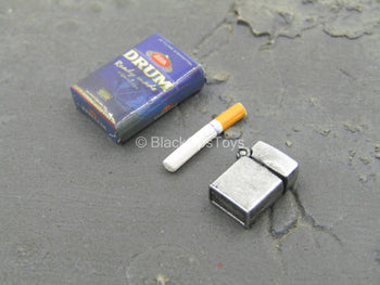 Pulp Fiction - Vincent - Lighter w/Cigarette Pack & Cigarette