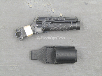 The Mechanical - Grenade Launcher w/Leather Like Holster