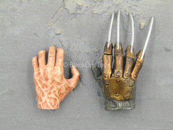 Freddy Kreuger - Hand Set w/Blade Finger Articulation