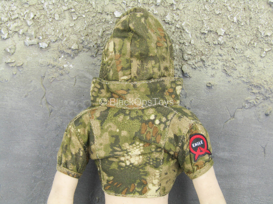 End War - Umir - Kryptek Camo Hooded Crop Top Shirt