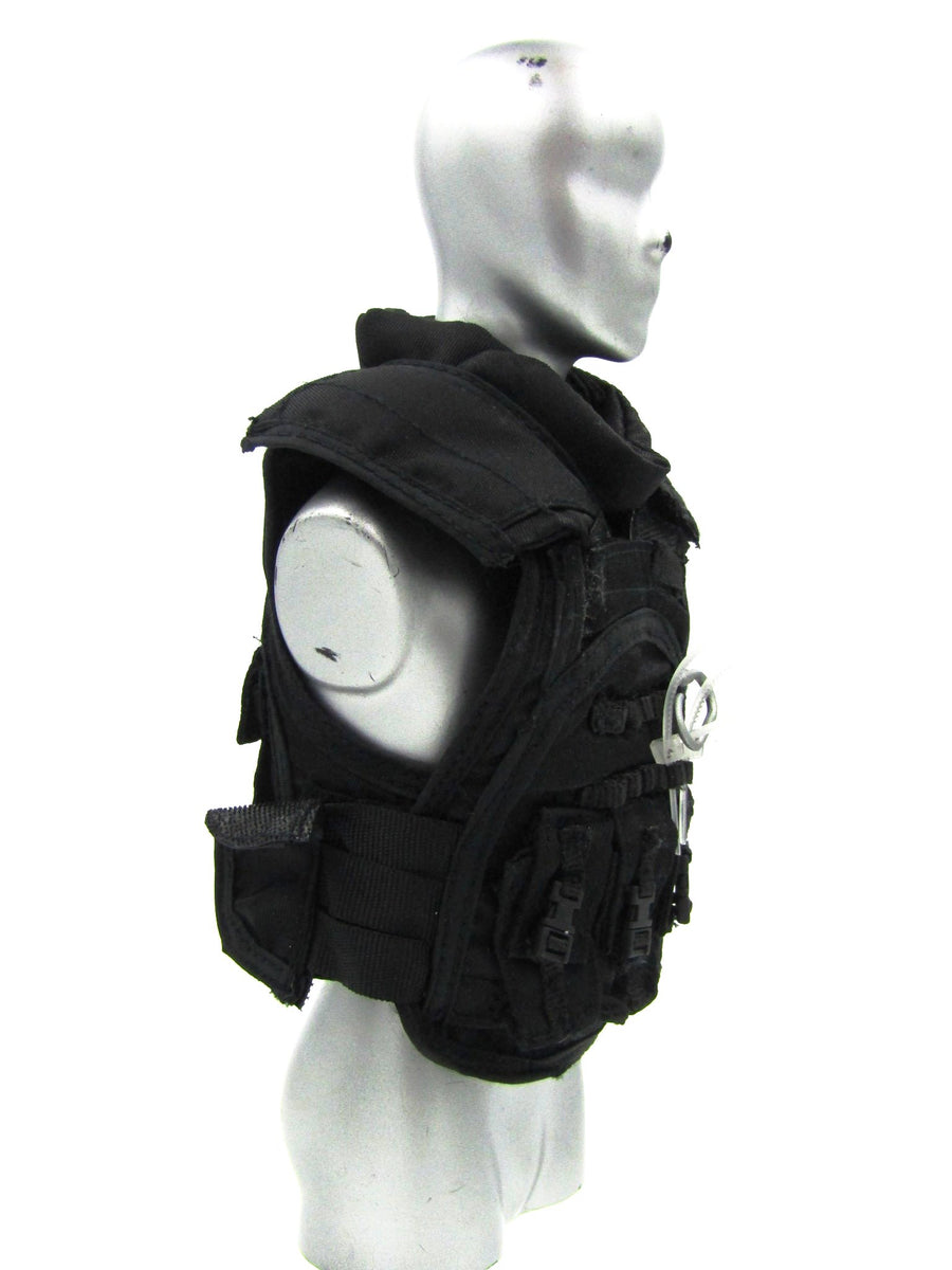 Special Duties Unit Exclusive - Ballistic Vest w/Flex Cuffs