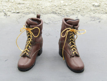 Supernatural Dean Winchester Brown Boots w/Foot Pegs