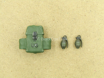 1/12 - Delta Force - Rifleman - Ammo Pouch w/Grenade Set (x2)