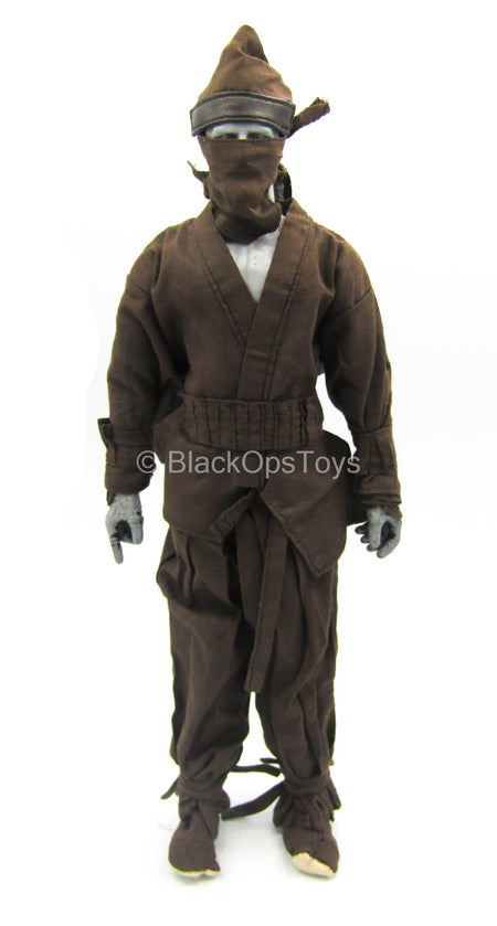 Ninja Gear - Brown Ninja Uniform Set