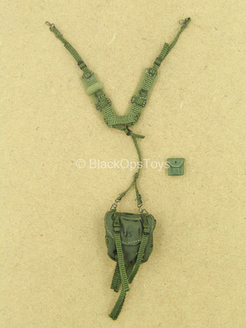 1/12 - Delta Force - Rifleman - OD Green Harness w/Pouch Set