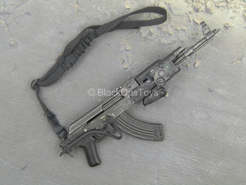 Bank Robber - Black AK-47 w/Sling