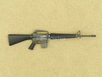 1/12 - Vietnam - US Infantry - Black M16A1 Assault Rifle