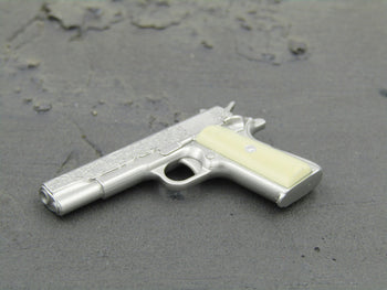 Supernatural Dean Winchester Silver Ivory-Handled Colt M1911A1 Pistol