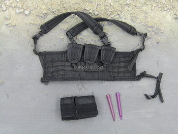 PMC Babe - Black Tactical Chest Rig Set