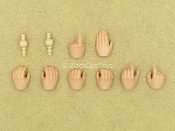 1/12 - Vietnam - US Infantry - Hand Set (x8)