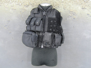 SWAT - Operator - Black Plate Carrier Vest w/Pouches