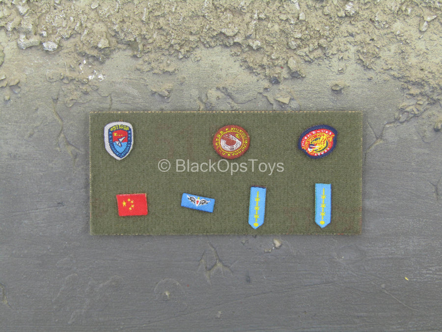 Chinese PLA Air Force Female Aviator - Patch Set
