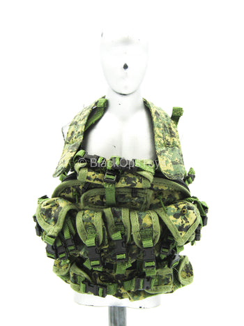 U.S. Army ELCS - Woodland MARPAT Chest Rig