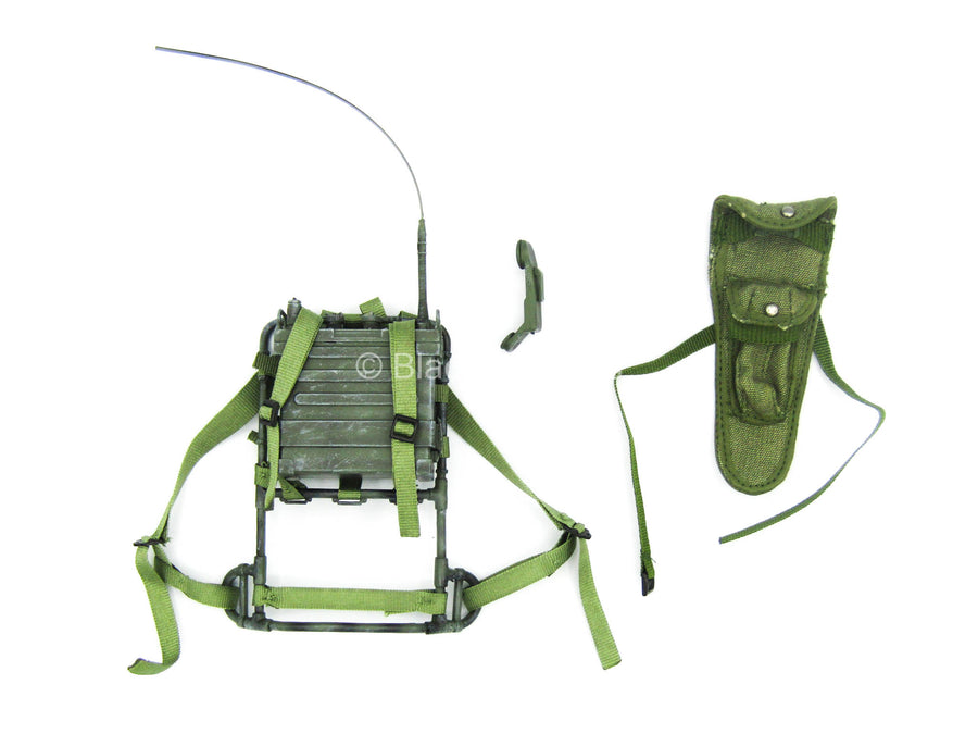 Vietnam Drang Valley - OD Green Alice Pack Frame w/Radio (NO CORD)